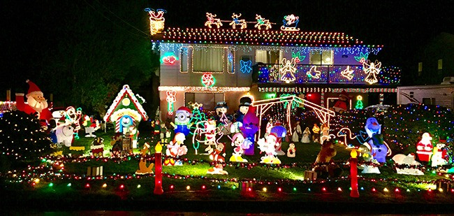 Holiday displays light up the night in Abbotsford and Mission – Abbotsford  News - Holiday Displays Light Up The Night In Abbotsford And Mission