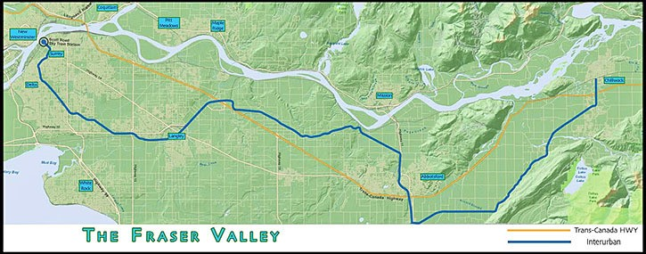 Dream of light rail from Chilliwack to Surrey isnt dead