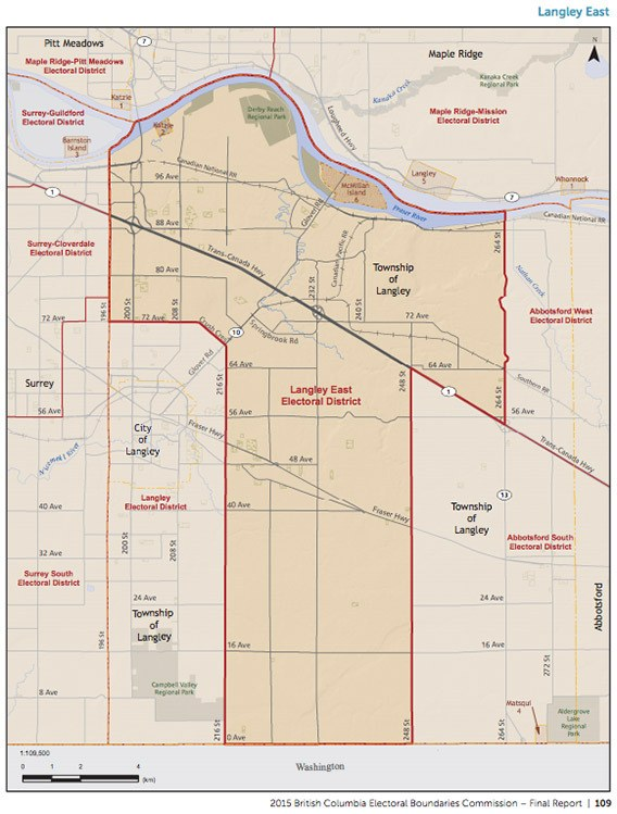 Aldergrove divided up in new provincial ridings Abbotsford News