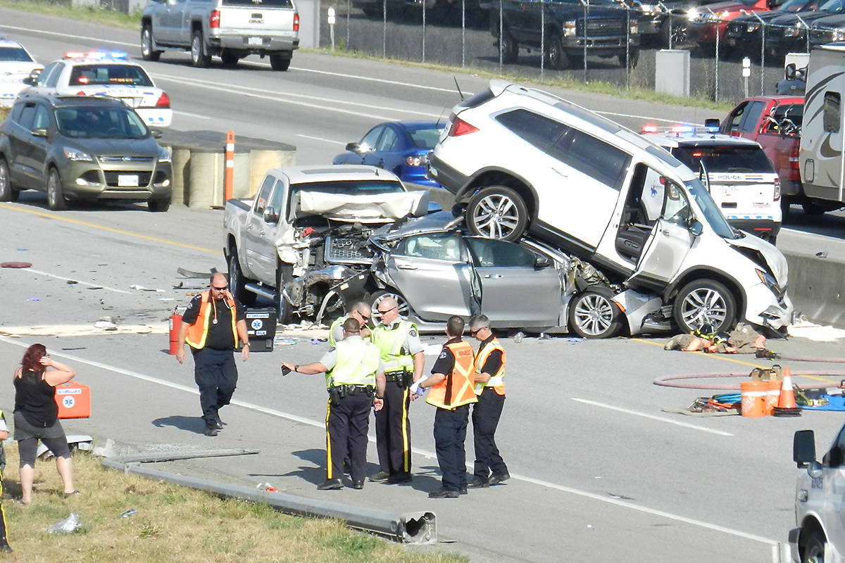Monday S Crash On Highway 1 Claims One Rcmp Abbotsford News