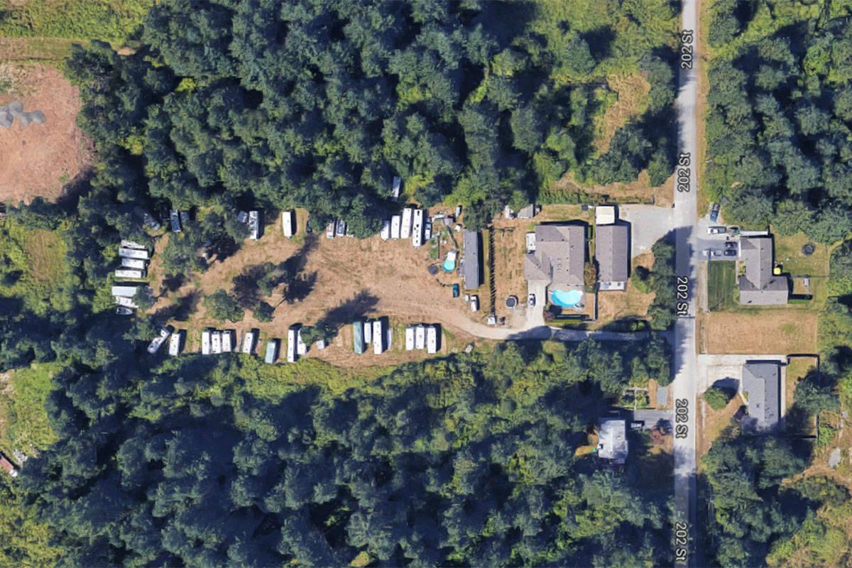 Langley Property Conceals Illegal Rv Storage Yard