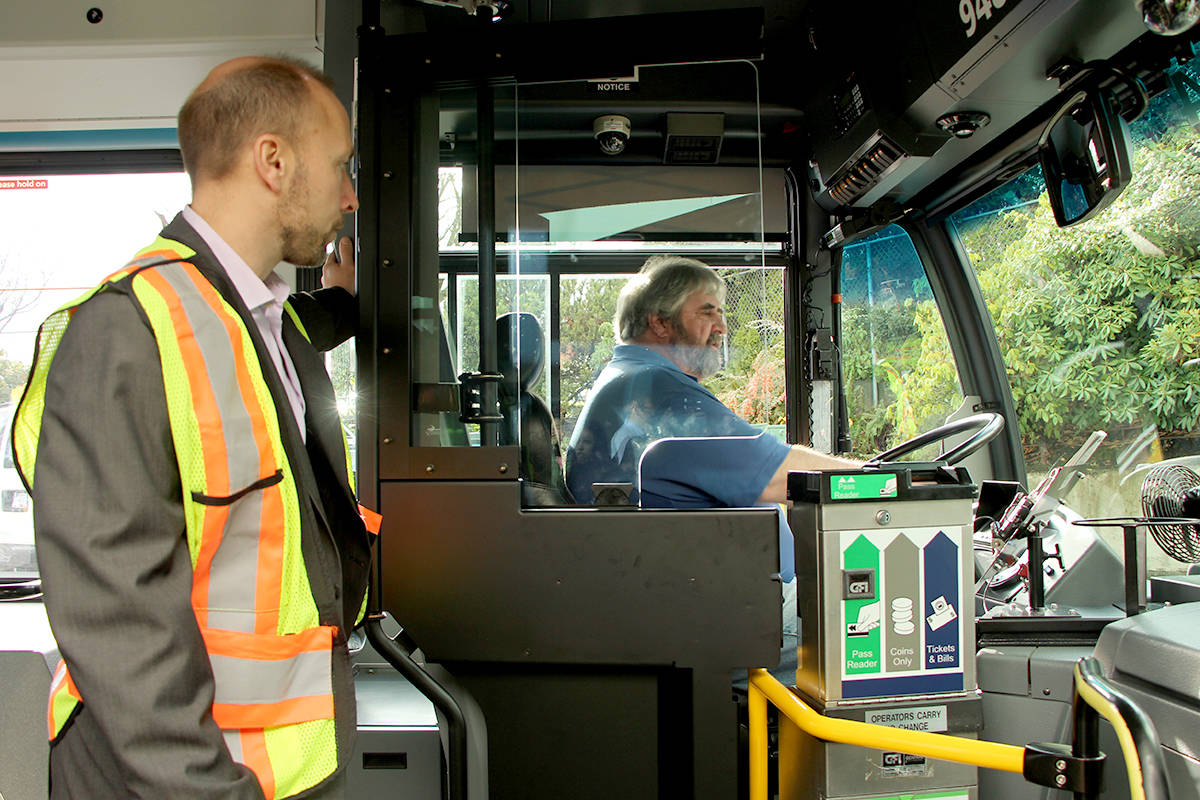 New safety doors aim to protect transit drivers & New safety doors aim to protect transit drivers - Abbotsford News