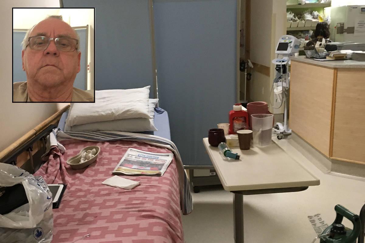 Senior spent nearly a week in Abbotsford hospital hallway
