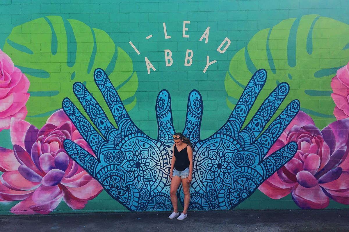 new mural in abbotsford represents openness and community growth