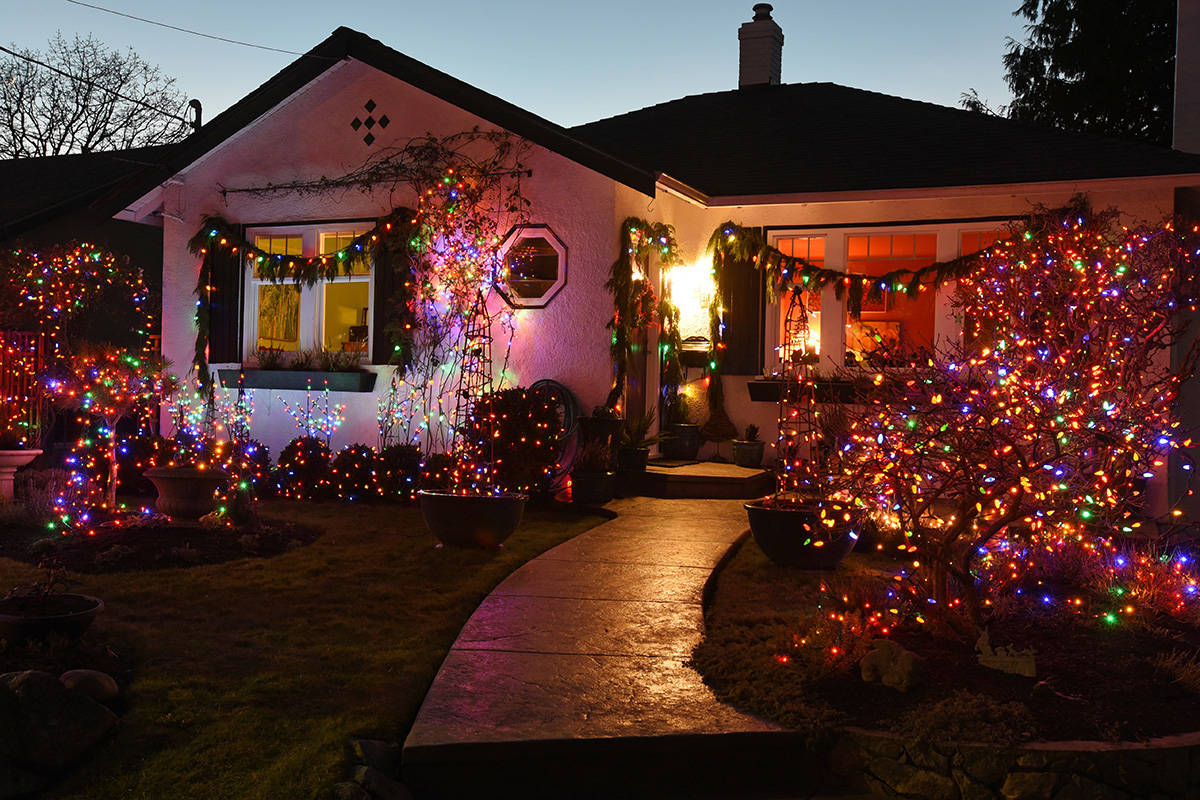 Picture Perfect House Of Christmas Decorations Abbotsford News