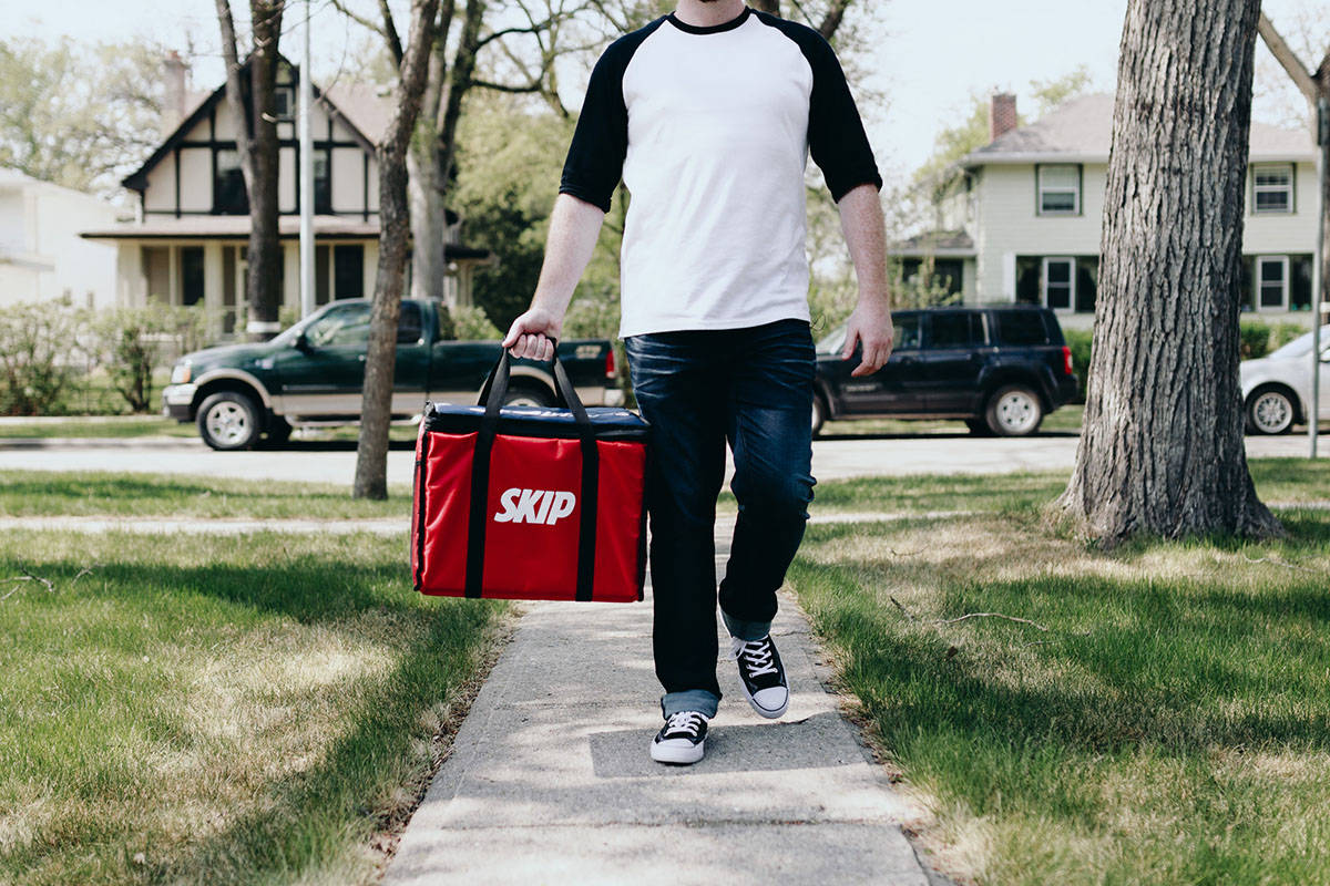 7cc7cfa6ef3a There s an app for that  Students opt for delivery over bag lunches ...