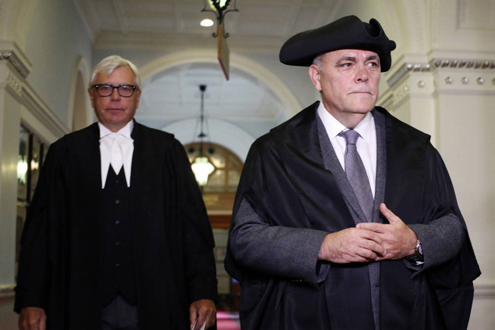B C  VIEWS: Speaker Darryl Plecas splits legislature looting spree