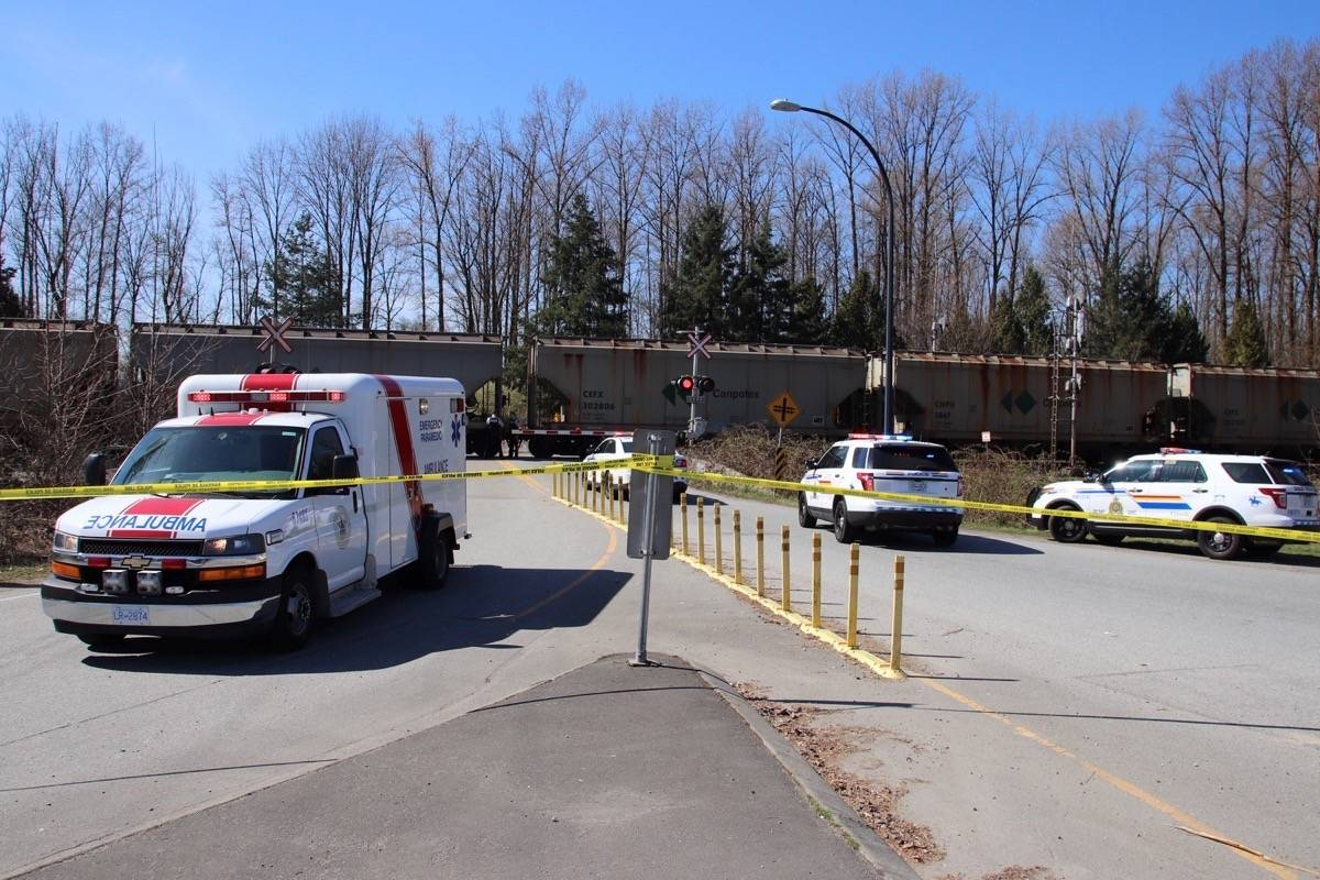 VIDEO: Pedestrian killed by train in Lower Mainland