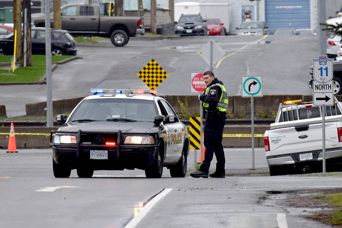 Parts of Hazelwood Avenue in Abbotsford closed after hydro