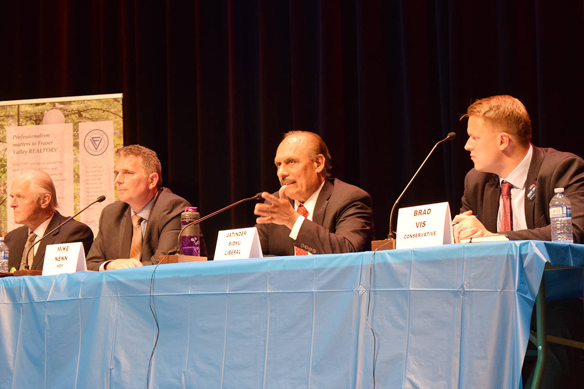 Highway 1, crime and pipeline debated at Mission-Matsqui-Fraser Canyon forum
