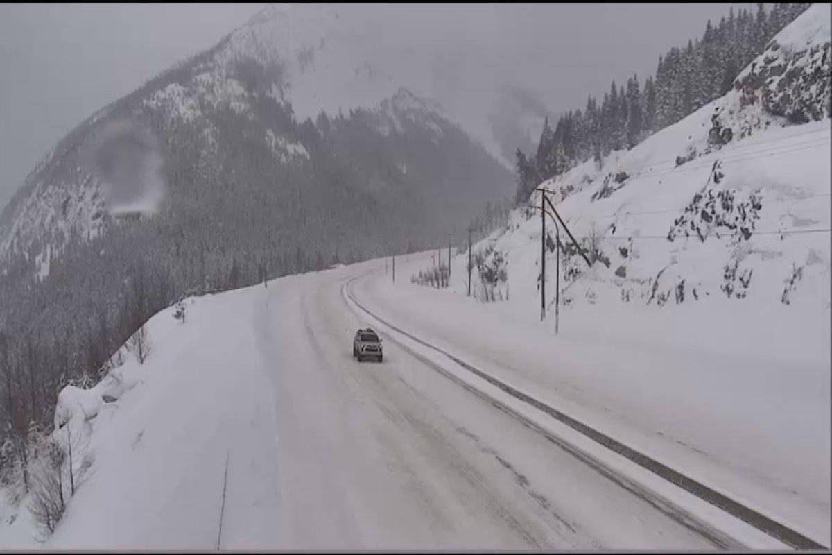 Snowfall warning in effect for the Coquihalla Highway – Abbotsford ...