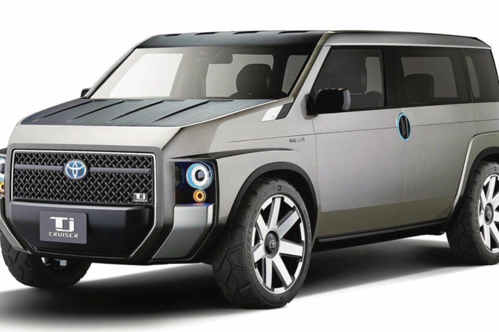 Is Toyota building an off-road minivan?