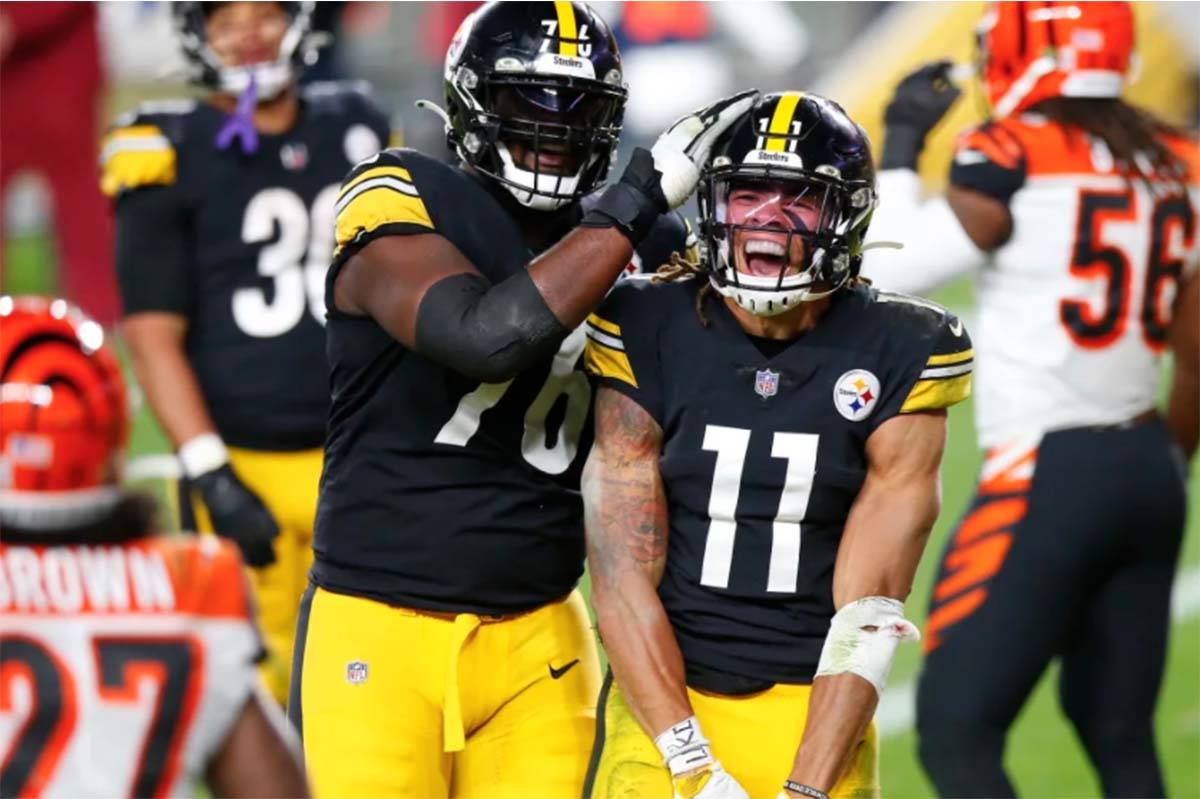Abbotsford's Chase Claypool catches two touchdowns in Steelers win –  Abbotsford News