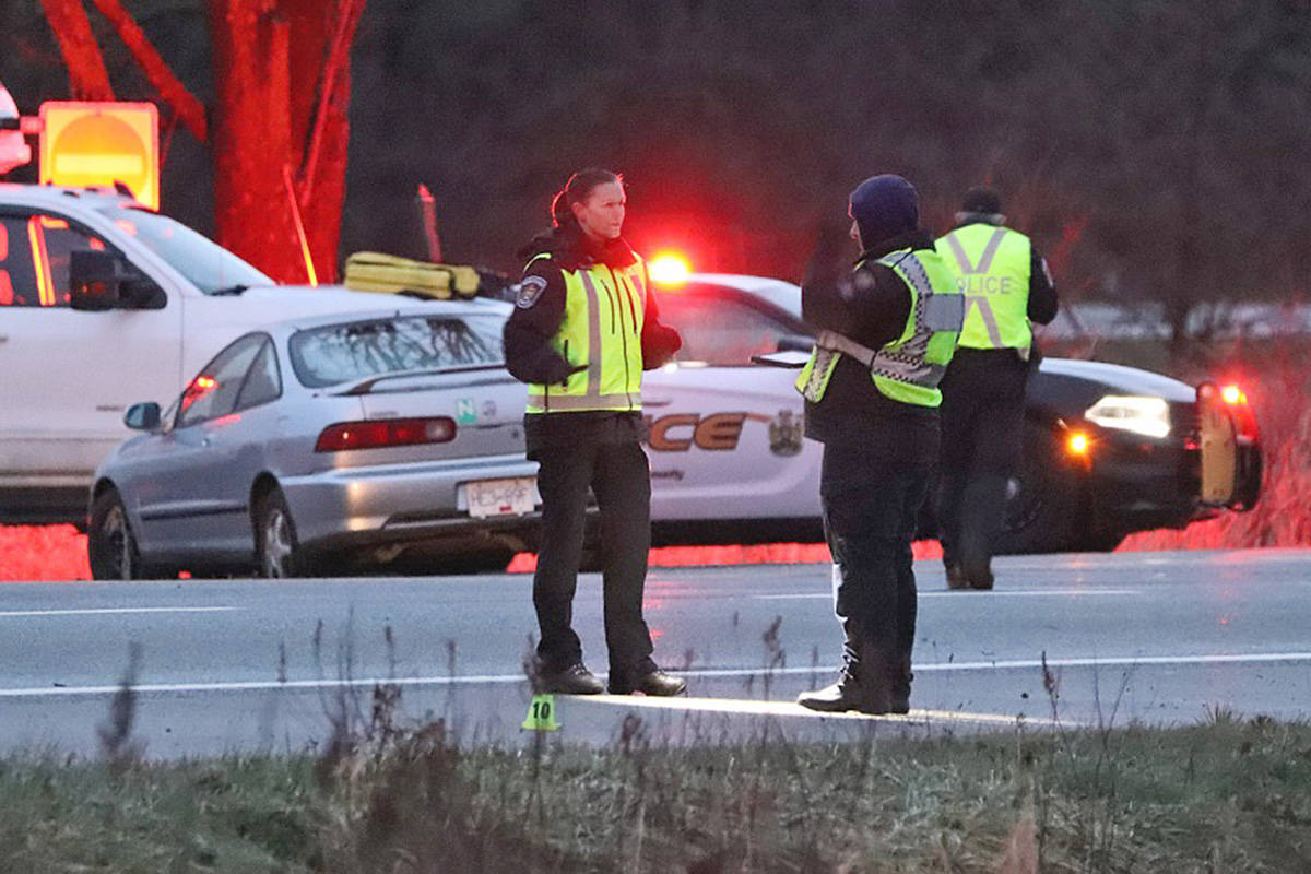 Langley Man 20 Identified As Pedestrian Killed After Being Struck By 3 Vehicles On Highway 1 Abbotsford News