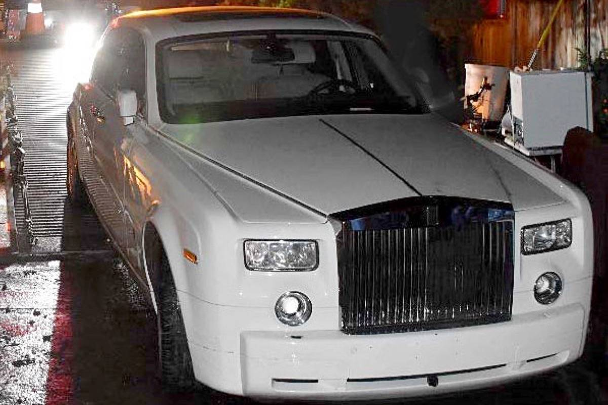 Rolls Royce Phantom Stolen A Year Ago In West Van Recovered In White Rock Abbotsford News
