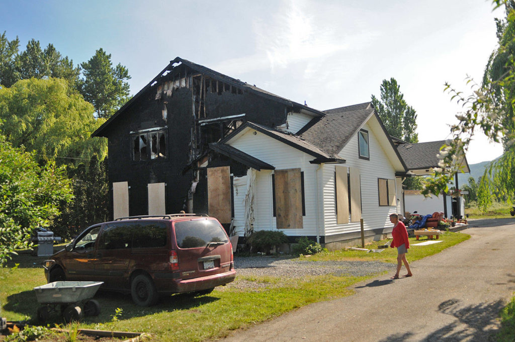 15 people homeless after Chilliwack house fire last week - Abbotsford News