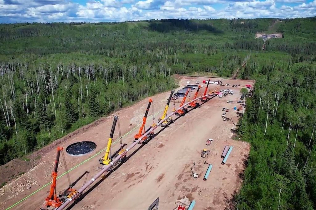 Coastal Gaslink pipeline nears halfway mark with B.C. river crossing - Abbotsford News