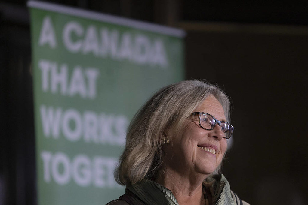 Elizabeth May once again face of the Green Party after disappointing national result – Abbotsford News